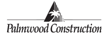 Palmwood Construction Inc. logo