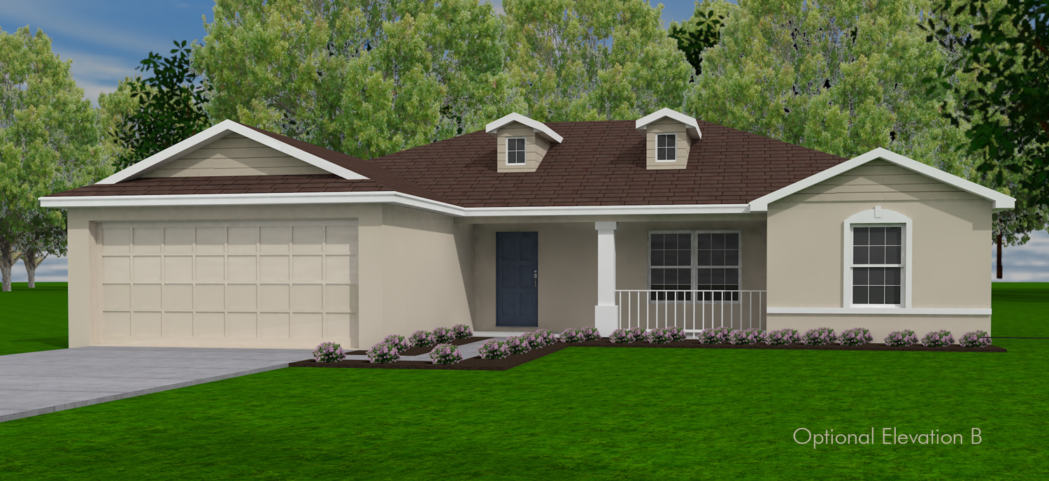 Ashland Exterior Rendered Drawing