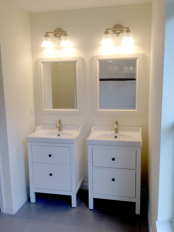 Orleans Double Sink Option