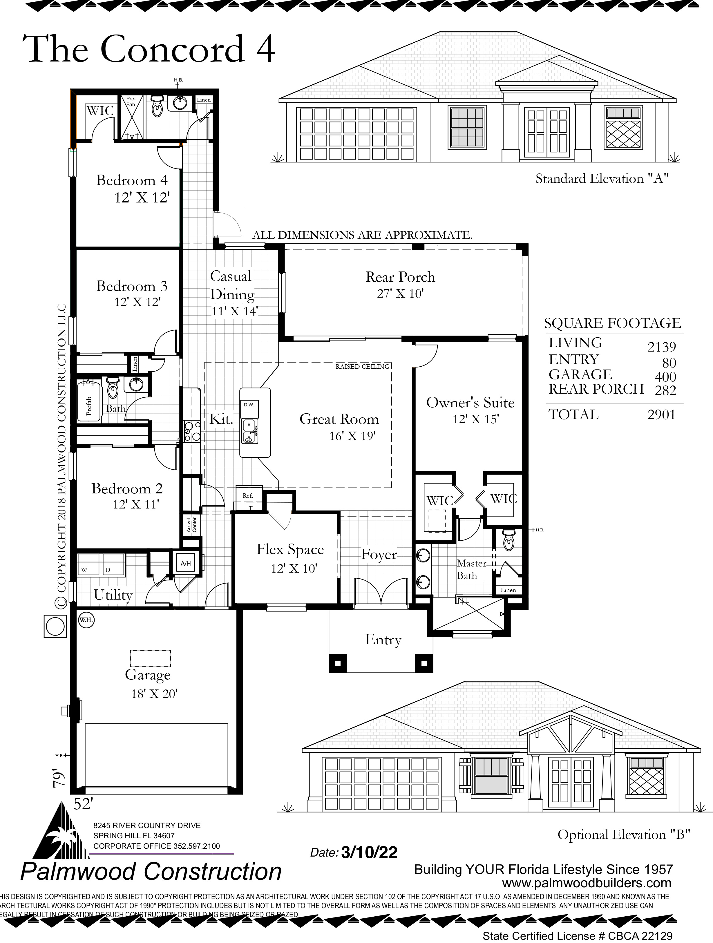 Cabana Cay Floor Plan