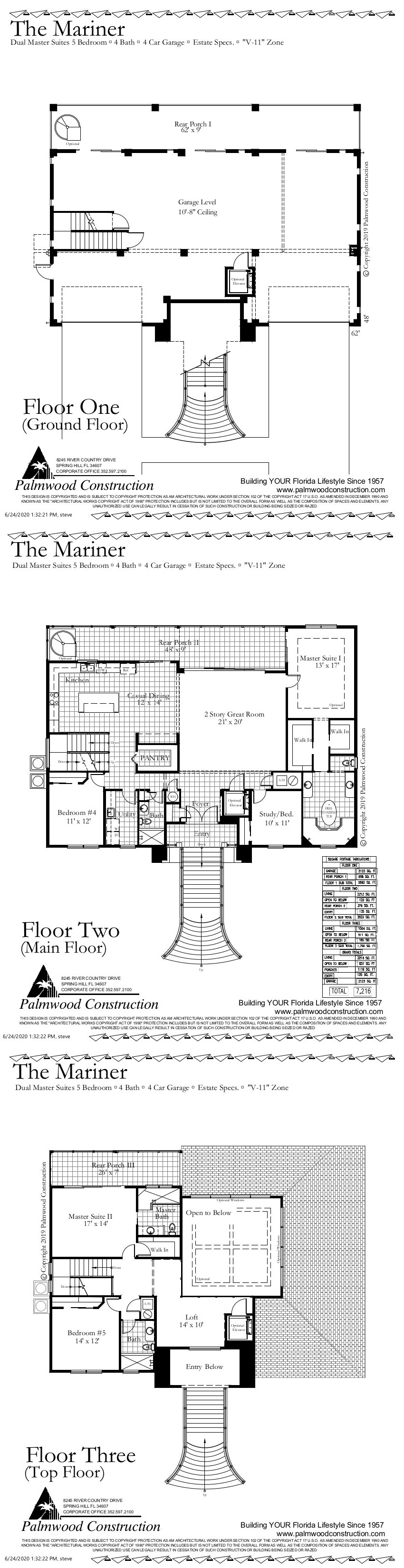 Mariner Floor Plan