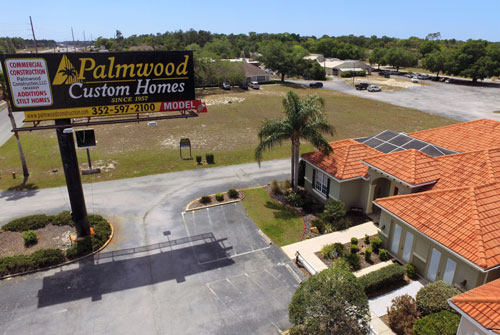 Aerial View of Palmwood Offices