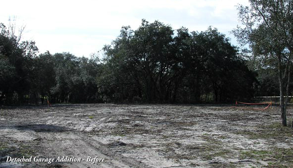 Vacant Land Before Contruction